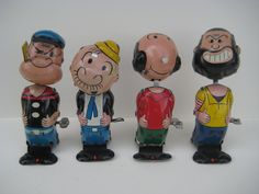 Rare Linemar Popeye the Sailor Man Wind up Tin Toy Collection. Pop it up! Ebay