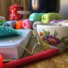 Haken bij Saar en Mien: Koffie & wol