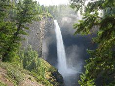 Tur til Canada - British Columbia: Clearwater –  Helmcken Falls, near Dawson Falls.