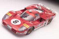 Ferrari 512M Erich Stahler Le Mans 1970