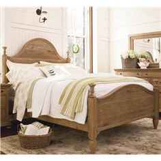 Universal Down Home King Bed with Headboard and Footboard - Baer's Furniture - Headboard & Footboard Boca Raton, Naples, Sarasota, Ft. Myers, Miami, Ft. Lauderdale, Palm Beach, Melbourne, Orlando, Florida
