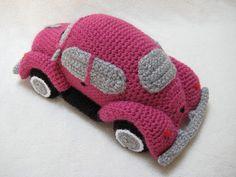 Haakpatroon Volkswagen VW Kever Bug Auto op VW door Millionbells