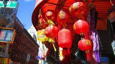 New York; China Town; Chinese Lanterns