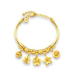 eec388f2e pandora 916 - from Poh Kong.. Auwww Gold Bracelets, Wedding Jewelry, Gold