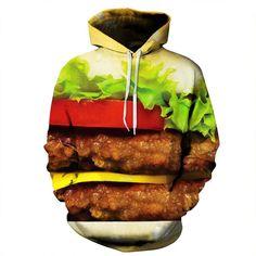 3d Print O-neck Long sleeve Sweatshirts