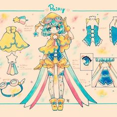 my second Oc  Shi/He is Pairy and is a shooting star /'7')/ #RefocIbu_chuan #oc #personificacion #gijinka #estrella #google #designs #shootingstar #estrellafugaz #Pairyocbyibu_chuan