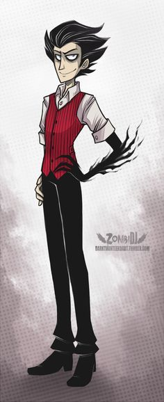 Impeccably Dressed [Don't Starve] by ZombiDJ on deviantART