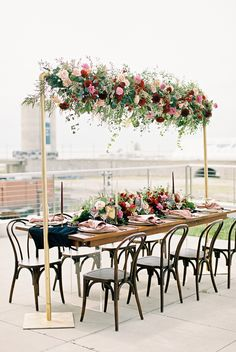 We're Head Over Heels for this Moody, Modern + Glam Wedding Inspiration – Wedding Centerpieces Wedding Table Decorations, Wedding Themes, Wedding Centerpieces, Wedding Designs, Wedding Events, Weddings, Wedding Shoot, Fall Wedding, Rustic Wedding