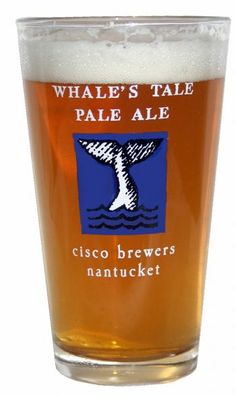 Cisco Brewer's Whale's Tale Pale Ale.    delicious.