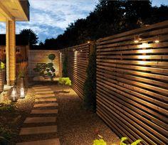 - Best ideas for decoration and makeup - Outdoor Rooms, Outdoor Gardens, Outdoor Decor, Landscape Lighting, Outdoor Lighting, Led Garden Lights, Privacy Fence Designs, Facade Lighting, Garden Cottage