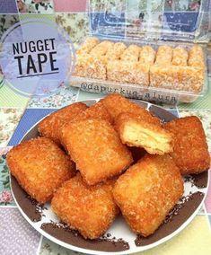 Cara Membuat Nugget Tape Cake Recipes, Snack Recipes, Cooking Recipes, Snacks, Traditional Cakes, Ramadan Recipes, Cheesy Recipes, Asian Desserts, Indonesian Food