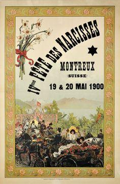Fête des Narcisses Montreux 1900