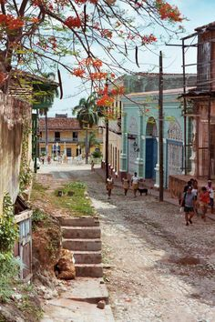 Trinidad, the best place I visited in Cuba