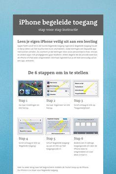 Leen je eigen iPhone veilig uit aan een leerling