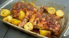 Receta de Pollo asado con miel y mostaza | Eureka Recetas