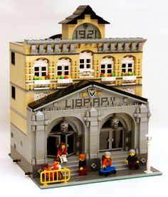 Modular Library vote to have Lego make set.  Go to link and vote!  Lego will make this available to buy, if enough votes are posted.  That is how Lego made the Ghostbusters car.