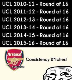 Arsenal.  Credits : The LAD Football  P.R