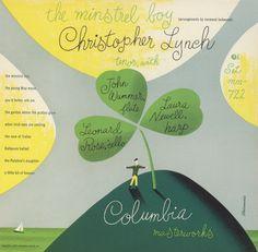 The Minstrel Boy – Christopher Lynch – album cover by Alex Steinweiss