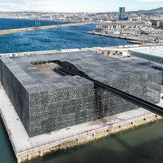 Museum of European and Mediterranean Civilizations (MUCEM), Marseille by Rudy Ricciotti Architect
