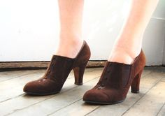 Vintage 1930s Oxford Shoes