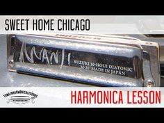 Your first position 12 bar blues lesson on harmonica + free harp tab Harmonica Lessons, Music Theory Lessons, Music Guitar, Ukulele, Backing Tracks, Easy Video, Harp, Blues, Sweet Home