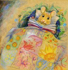 Always … a story before bed / Siempre… un cuento antes de dormir (il·lustració de M-elleJu)