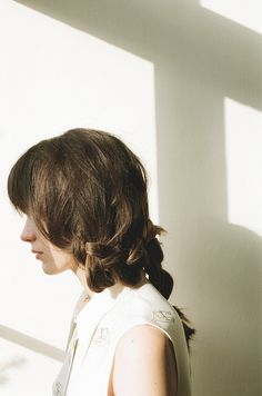 stacy martin - cute faux short style