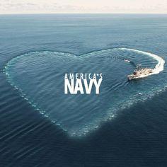 Navy love!
