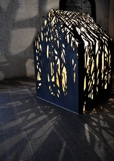 The Shelter, installation by Mlle Terite