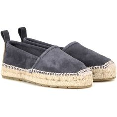 a9221dc96c Balenciaga Suede Espadrilles ( 535) ❤ liked on Polyvore featuring shoes