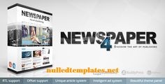 Newspaper - WordPress theme V.4.6.1 - http://nulledtemplates.net/wordpress-themes/themeforest/newspaper-wordpress-theme-v-4-6-1.html  Newspaper is a WordPress theme that lets you write articles and blog posts with ease. The Newspaper template is excellent for a news, newspaper, magazine, publishing or review site. It also supports videos from YouTube and features a rating system. So far, we have the theme integrated with bbPress Forum, BuddyPress, Buddy Press, and WooCommerce