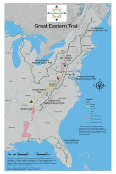 Great Eastern Trail Map