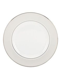 Kate Spade New York Chapel Hill Salad Plate- 8 in. Women's White