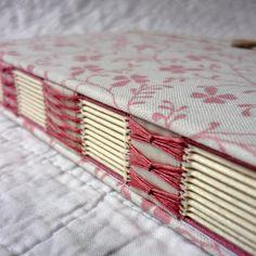 A6 Journal hand-bound Dusty Pink £22.00