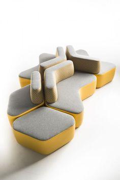 Cactus Sofa - Designer MONZER Hammoud - Pont des Arts studio - Paris: