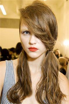 prada low ponytail