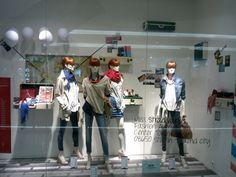 designer store window displays | Stradivarius windows Spring Summer 2013 Jakarta Stradivarius windows ...