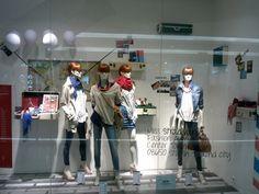 designer store window displays | Stradivarius windows Spring Summer 2013 Jakarta Stradivarius windows ...