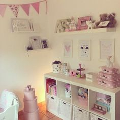 Best charming kid's room decor ideas room ideas girl room, g Big Girl Bedrooms, Little Girl Rooms, Little Girls, Pink Bedrooms, Baby Girls, Toddler Girl, Ideas Habitaciones, Princess Room, Baby Bedroom