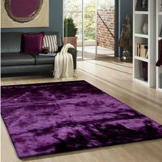 Add a touch of royal elegance to your home with the Purple Faux Fur Sheep Skin Shag Area Rug. This rug features a luxurious shag construction with a beautiful purple color that is sure to complement a variety of different decors. Funky Home Decor, Cheap Home Decor, Purple Home Decor, Living Room Decor, Bedroom Decor, Faux Fur Rug, Purple Area Rugs, Online Home Decor Stores, Online Shopping