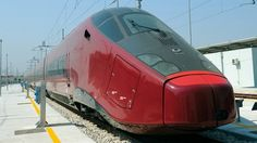 Italy.  Italy is so cool that Ferrari is designing their trains.  Now everyone (in Italia) can ride in a Ferrari.  Grazie Mille!