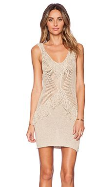 Shop for AMUSE SOCIETY Tribe Dress in Oatmeal Heather at REVOLVE.