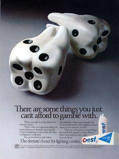 Crest print #advertisment #adv #ads #marketing #creative