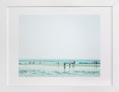 Mint Beach by Alexandra Feo at minted.com