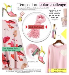 """""""Color Challenge"""" by shambala-379 ❤ liked on Polyvore featuring Whiteley, Hedi Slimane, NARS Cosmetics, Sophia Webster, Paul & Joe, Benefit and Yves Saint Laurent"""