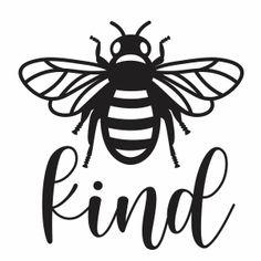 Cricut Craft Room, Cricut Vinyl, Svg Files For Cricut, Bee Outline, Types Of Vectors, Bee Silhouette, Bee Illustration, Cricut Tutorials, Cricut Ideas