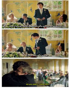 I think we can all agree that this was probably one of THE BEST and the most TOUCHING scenes in the entire Sherlock show, seasons one to three.