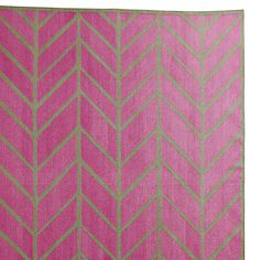 Orchid/Army Feather Rug | Serena & Lily