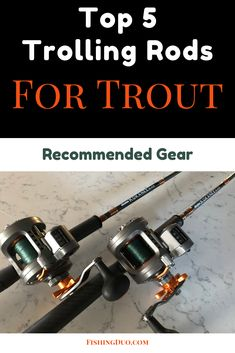 5 Best Trolling Rods for Trout: Our Top Picks Fishing Tools, Fishing Equipment, Trout Fishing Rods, Information About Fish, Kayak Fishing Accessories, Fish Finder, Brown Trout, Tackle Box, Rainbow Trout