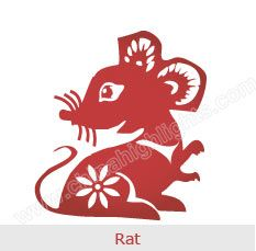 Rat - Chinese Zodiac Signs--Lawrence, Delaney, Lilli, Bryan, Sandy